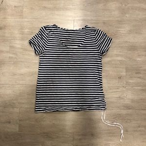 J. Crew Striped T-shirt